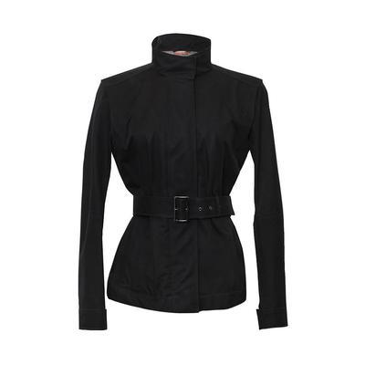 Prada Size Small Black Jacket with Bucket Hat
