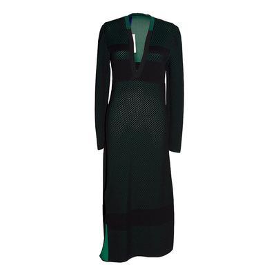 Proenza Schouler Size Small Black Mesh Dress