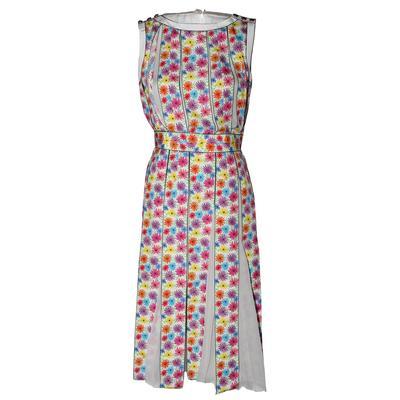 Chanel Size 34 Daisy Print Dress