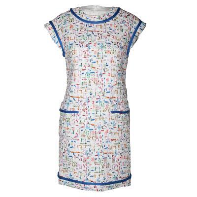 Chanel Size 36 Woven Multi Color Dress