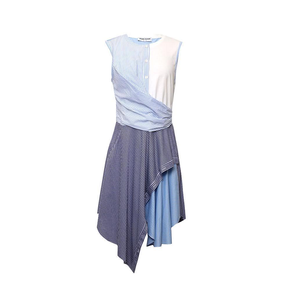 Opening Ceremony Size Small Blue Stripe Dress