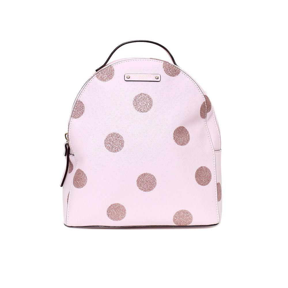 Kate Spade Pink Polka Dot Backpack