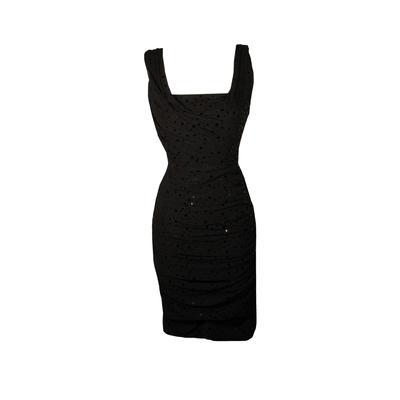 Dolce & Gabbana Size 38 Sequin Midi Dress