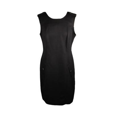Burberry Brit Size 12 Short Black Dress