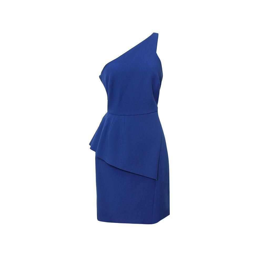 Halston Heritage Size 6 Blue Dress