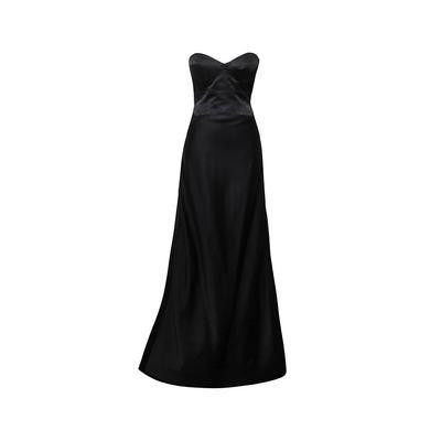 Kaufaman Franco Size XS Black Gown