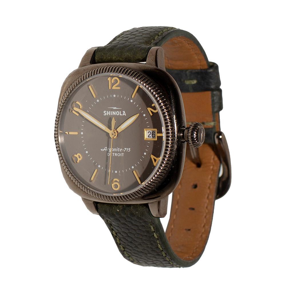Shinola Argonite Stainless Steel Watch