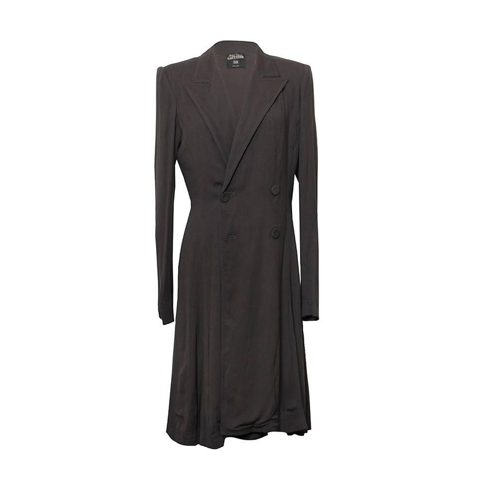Jean Paul Gaultier Size 10 Medium Grey Coat