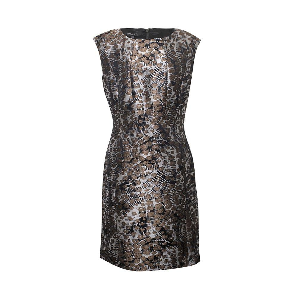 Lafayette Size 10 Medium Metallic Dress