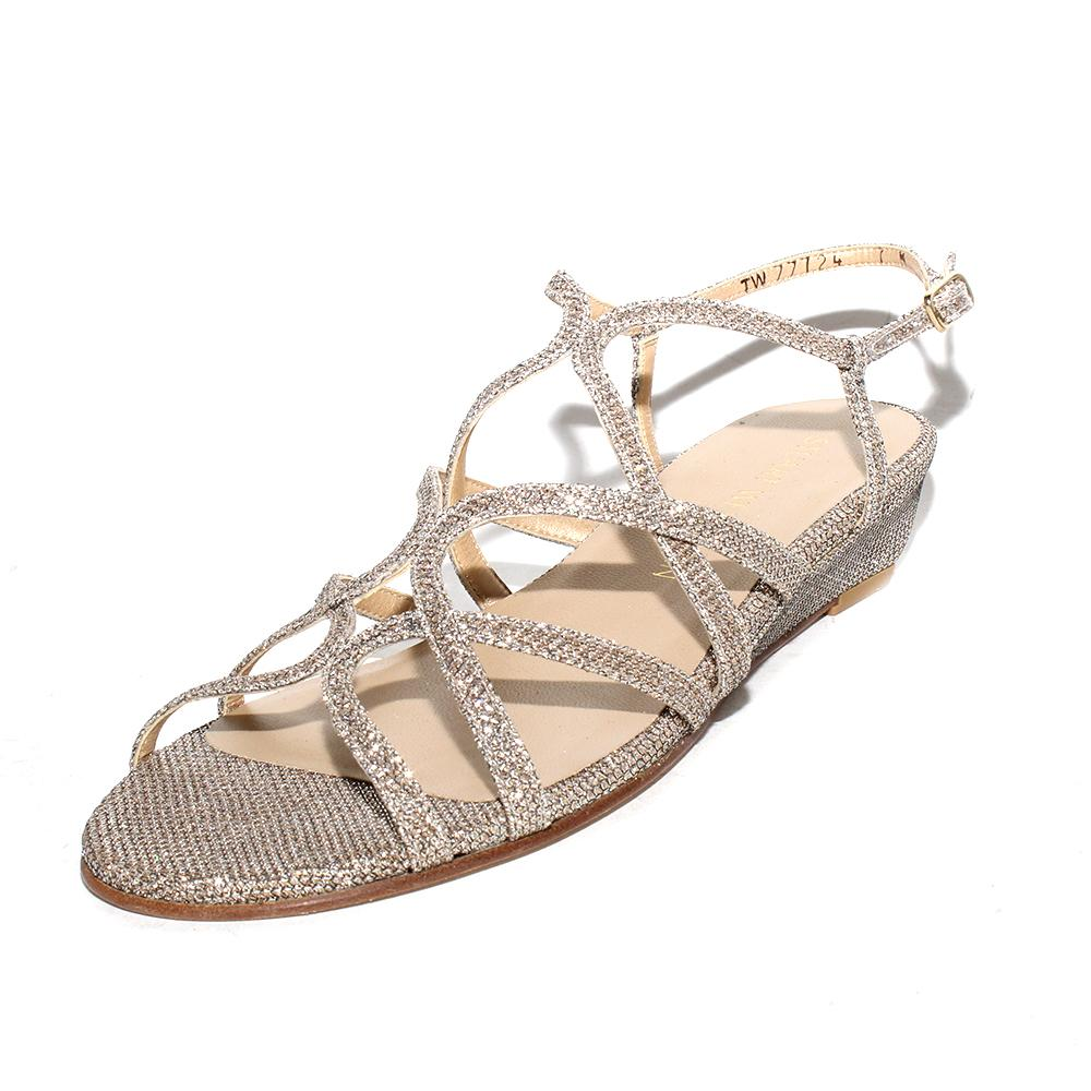 Stuart Weitzman Size 7 Glitter Sandal