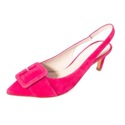 Kennel Schmenger Size 7 Pink Slingback Heels