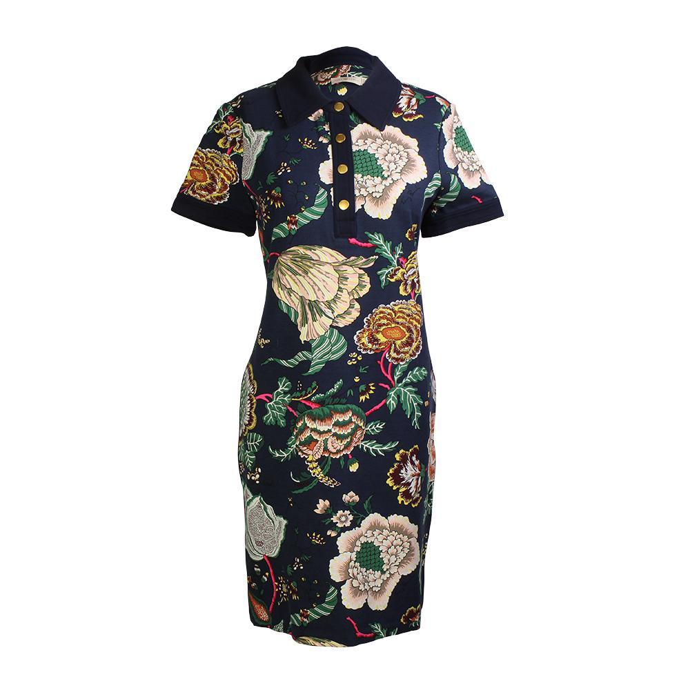 Tory Burch Size Small Ponte Polo Dress
