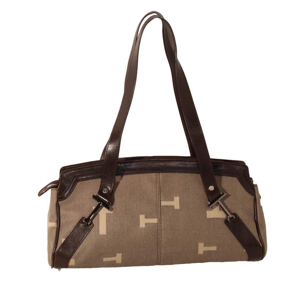 Tod's Canvas T Mono Bag