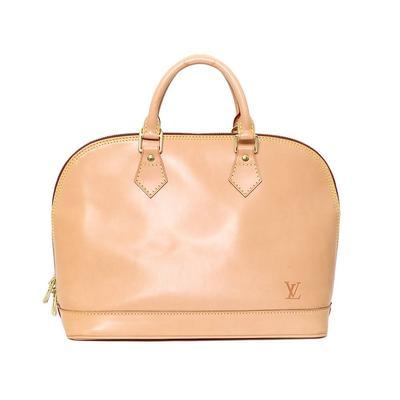 Louis Vuitton Tan Alma Bag