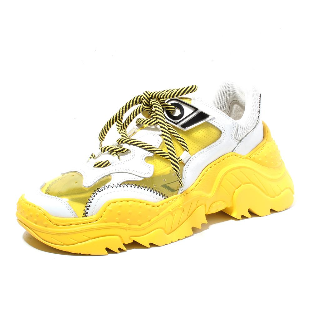 No 21 Size 40 Billy Pvc Chunky Sneaker