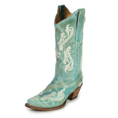Corral Suede Size 6.5 Cowboy Boots