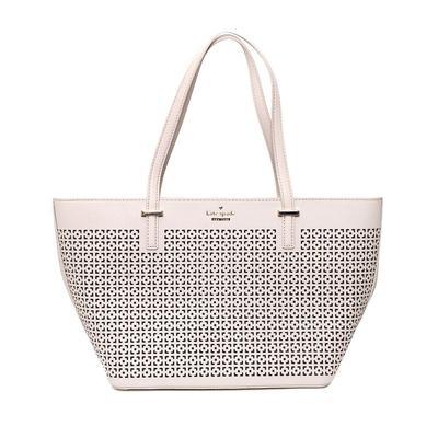 Kate Spade Cream Laser Cut Bag