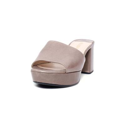 Prada Size 37 Grey Mule