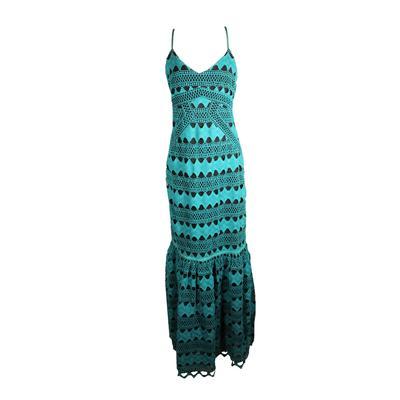 Zac Posen Size 10 Maxi Dress