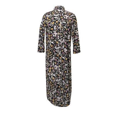 R13 Size Medium Floral Shirt Dress