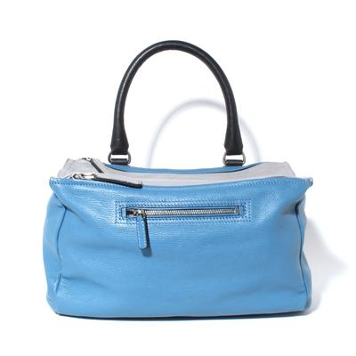 Givenchy Blue Pandora Double Zip Bag