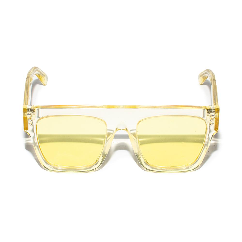 Stella Mccartney Yellow Biomaterial Sunglasses