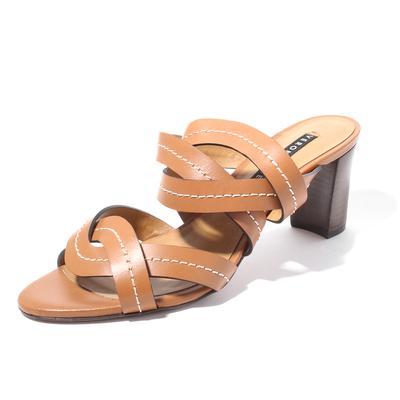 Veronica Beard Size 39.5 Leather Sandals