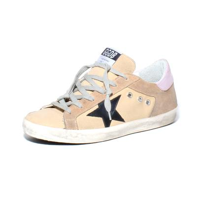Golden Goose Size 39 Canvas Superstar Sneaker