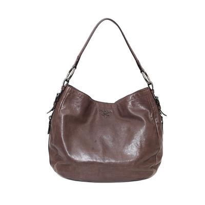 Prada Brown Hobo Bag