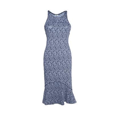 Kenzo Size XS Navy Monogram Dress