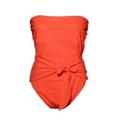 Zimmerman Size Medium Orange One Piece Swimsuit