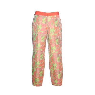 Ted Baker Size Medium Pink Floral Print Pants