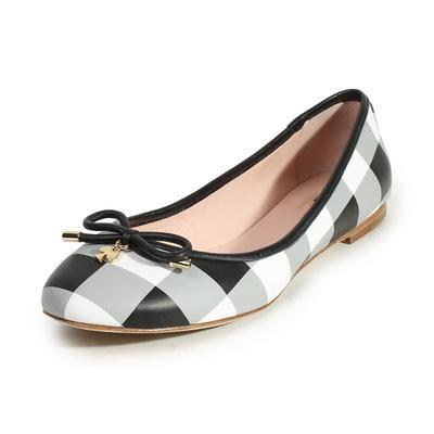 Kate Spade Size 8.5 Willa Plaid Flats