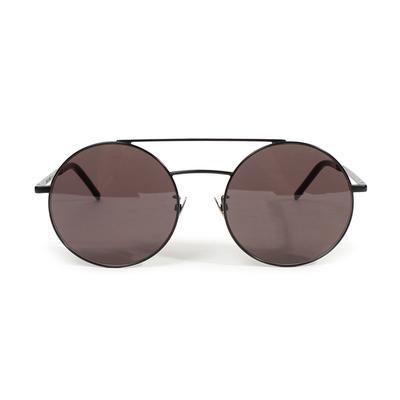 Saint Laurent Round Aviator Sunglasses