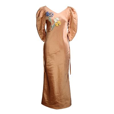 Tory Burch Size 2 Puffed Sleeve Dress