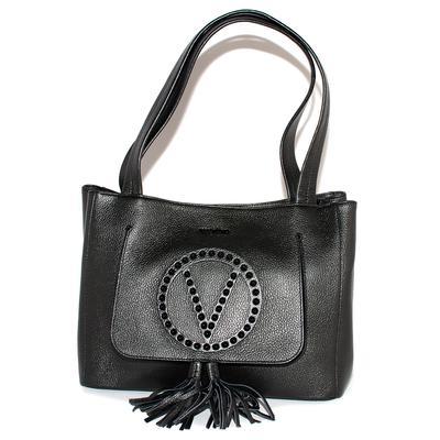 Valentino by Mario Estelle Black Leather Bag
