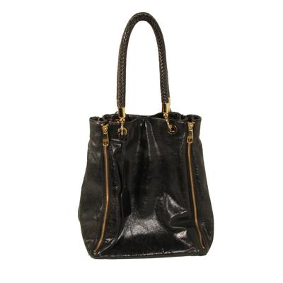 Badgley Mischka Braided Handle Bag