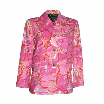 Dolce + Gabbana Size 44 Jacket
