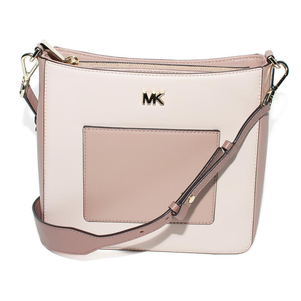 Michael M Kors Pink Leather Gloria Handbag