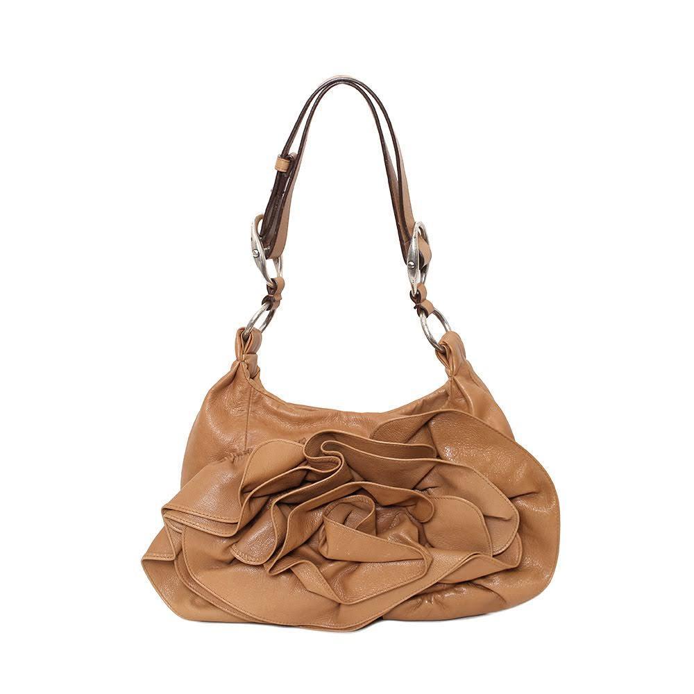 Ysl Rive Gauche Tan Bag