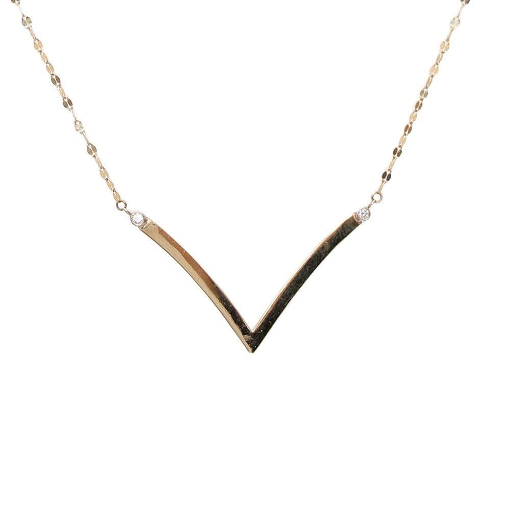 Lana 14k Diamond Necklace