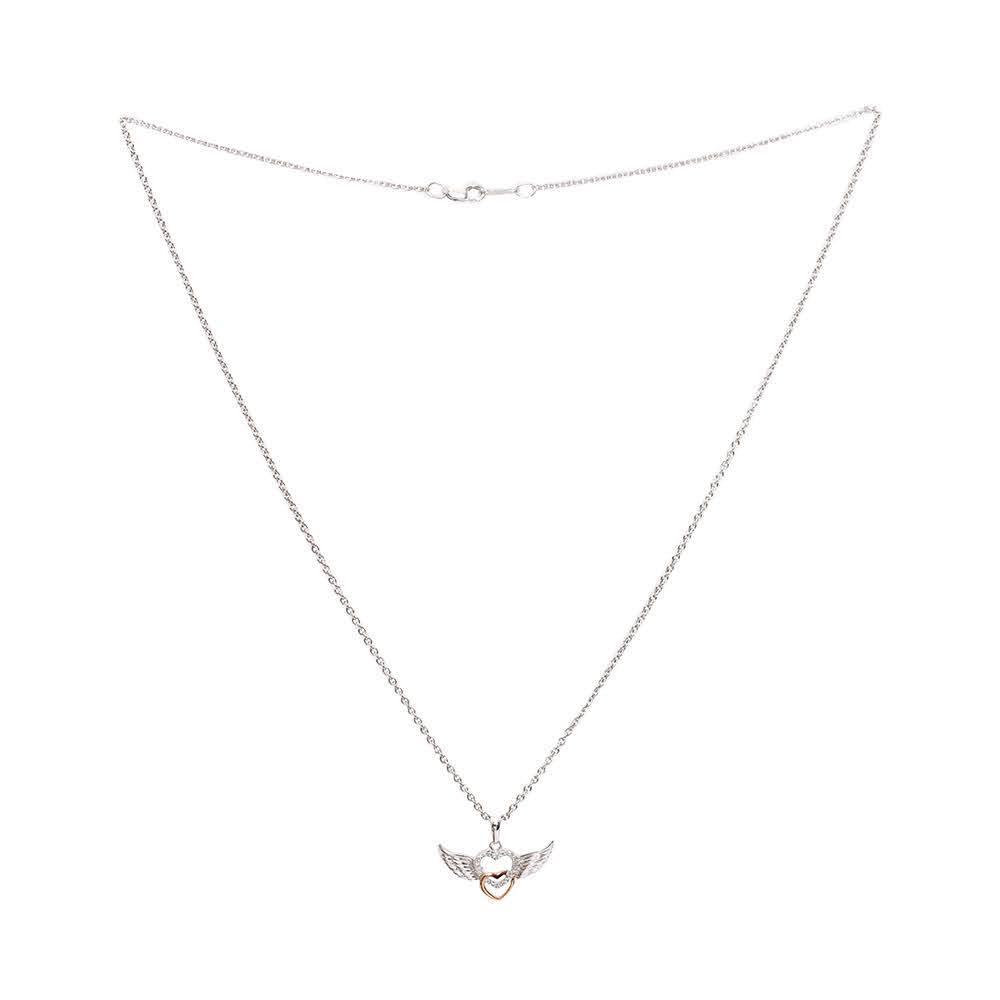 Jared 925 + Diamond Wing Heart