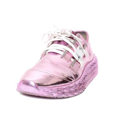 Giuseppe Zanotti Size 41 Metallic Pink Sneaker