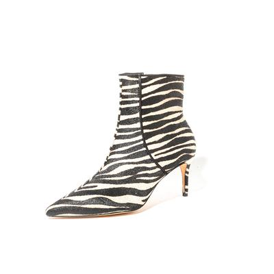 Schutz Size 6 Zebra Print Pony Hair Boots