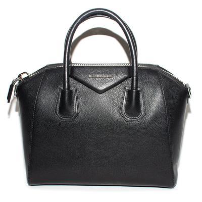 Givenchy Black Leather Antigona Handbag