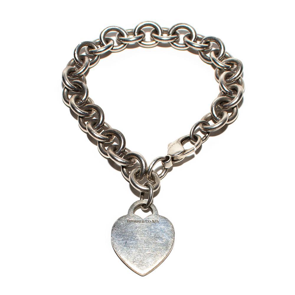 Tiffany & Co.Sterling Silver Heart Tag Bracelet