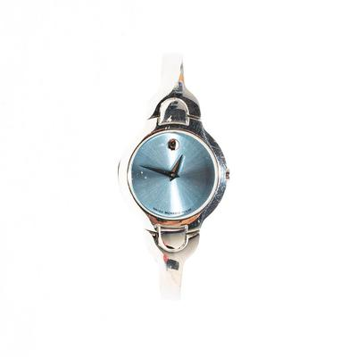 Movado Kara Blue Face Watch