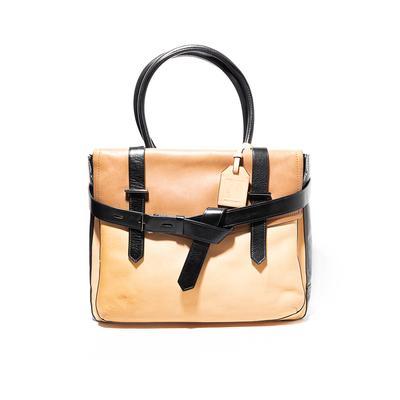 Reed Krakoff Leather Two Toned Handbag