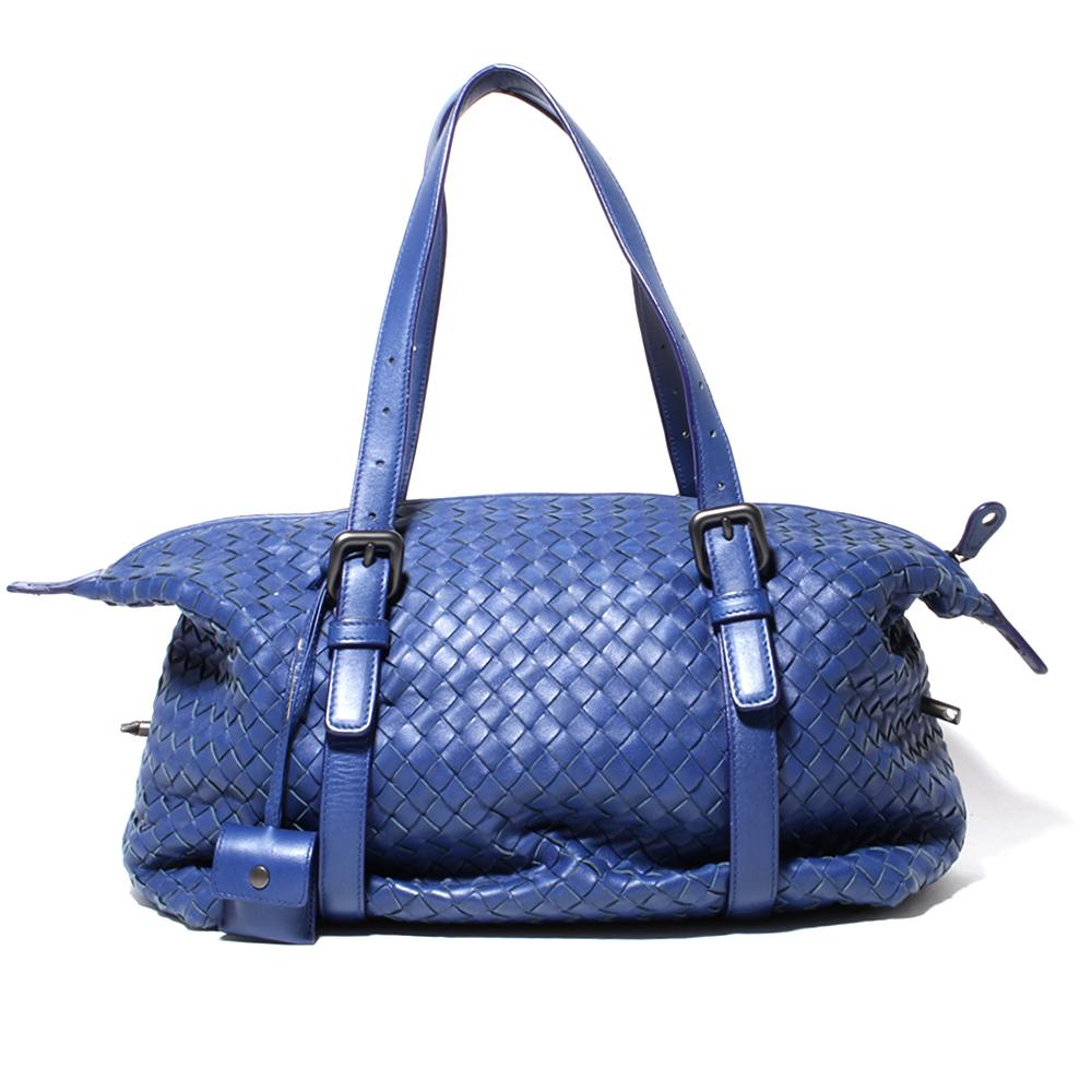 Bottega Veneta Intrecciato Leather Zip Shoulder Bag