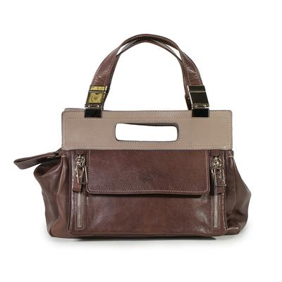 Chloé Taupe Handbag